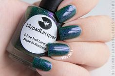 Lilypad Lacquer - Envy Me (HypnoticPolish store exclusive) - swatched $16