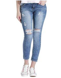 ΝΕΕΣ ΑΦΙΞΕΙΣ :: Jean Knees Off - OEM Skinny Jeans, Pants, Fashion, Trouser Pants, Moda, Fashion Styles, Women's Pants, Women Pants, Fashion Illustrations