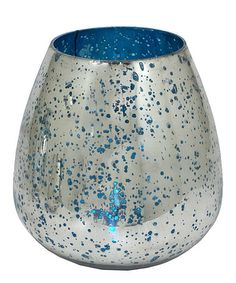 Take a look at this Mercury Glass 7'' Vase by Three Hands Corporation on #zulily today!