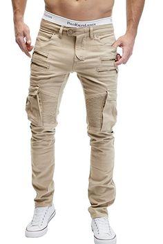 Merish Bikerchino Hose Jeans Herren Neu Pocket 4 Zipper Style Neu J2055 Hellbeige W33: Amazon.de: Bekleidung Beige Jeans, Designer Suits For Men, Biker, Men Style Tips, Sexy Jeans, Mens Fashion, Fashion Outfits, Mens Suits, Khaki Pants