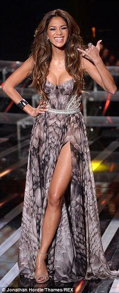 Nicole Scherzinger - Great Cleavage