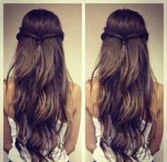 Fine 1000 Images About Hairstyles On Pinterest Bow Hairstyles Cute Hairstyle Inspiration Daily Dogsangcom