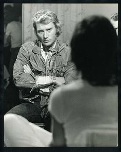 1970s Johnny Hallyday Vintage Original Photo The French Elvis Singer Actor GP | eBay