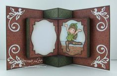 """From My Craft Room: Card Tutorial (6"""" x 6"""" card) by Norma Lee"""