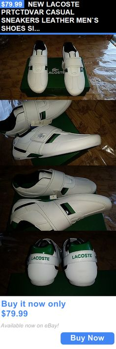 Men Shoes: New Lacoste Prtctdvar Casual Sneakers Leather Men`S Shoes Size 11.5 BUY IT NOW ONLY: $79.99