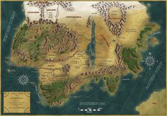 Continents and Regions - Fantasy-Map.net - Where visions become maps!