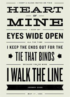 Johnny Cash - I walk the line ❤