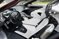 Citroen C-Metisse interior