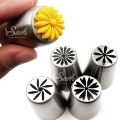 Metal Stainless Steel Cutters Professional Cake Decorators Russian Pastry Nozzles Piping Tips for the Kitchen Baking Russian Decorating Tips, Cake Decorating Tools, Cookie Decorating, Icing Tips, Frosting Tips, Cake Piping, Buttercream Cake, Piping Bag, Russian Pastries