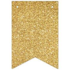 #glitter - #Gold Glitters. Bunting Flags