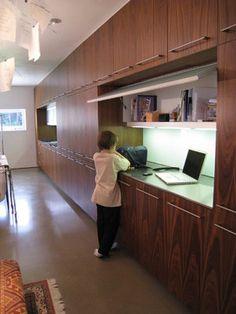 Bushman Dreyfus Architects modern laundry room
