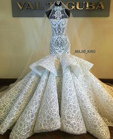 Couture by . Show some love and leAn amazing couture wedding gown.Exceptionally beautiful and stunning designer wedding gown Ain't this stunning? Dream Wedding Dresses, Bridal Dresses, Wedding Gowns, Prom Dresses, Formal Dresses, Fantasy Gowns, Beautiful Gowns, Dream Dress, Pretty Dresses