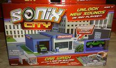 Sonix City Car Wash Add On Building & Micro Car Brand New Free Shipping
