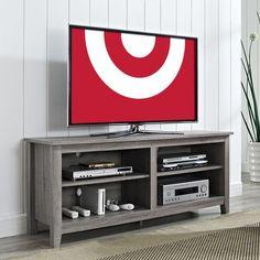 """Wood Tv Stand - Espresso (58"""")"""
