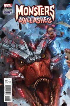 ArtStation - Issue #4 moongirl and devil dinosaur, JeeHyung lee