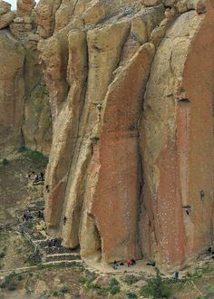 Smith Rock climbers