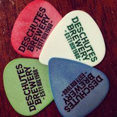 Deschutes Brewery Guitar Picks!