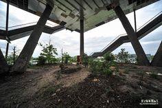 Pavilhão Expo 2000 | Hannover_Alemanha | Contruído em 1997 e abandonado em 2000