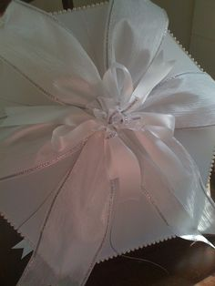 Elegant second line umbrella for the bride created by All About Events www.allaboutevents.net