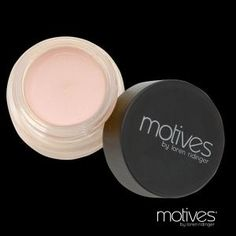 Motives® Eye Base that neutralizes the eye lids and keeps eye shadow from creasing, so eye color stays on and looks true.