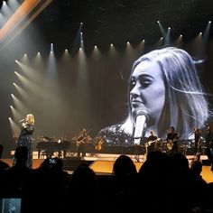 Adele performing at 'TD Garden', Boston, Massachusetts (Sept. 14)