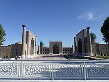 Le tre madrase nella piazza del Registan - Samarcanda - Uzbekistan