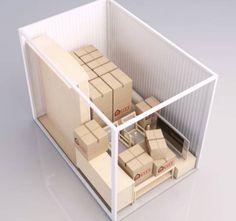 City Self-Storage opbevaringsrum