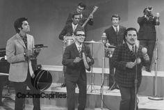 Rafa Galindo cantando junto a José Luis Rodríguez y Víctor Pérez. Foto: Archivo Fotográfico/Cadena Capriles