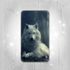 White Wolf Gadget Personalized Tech Gift Usb by Lantadesign