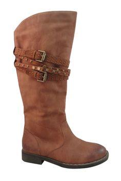 Bucco Sultan Tall Boot In Tan - Beyond the Rack