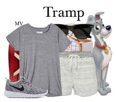"""""""Tramp"""" by megan-vanwinkle ❤ liked on Polyvore featuring Valentino, Calvin Klein and Ray-Ban"""