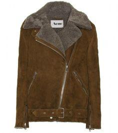 ACNE Khaki Velocite Lambswool Jacket - Lyst