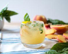 Vigor and Sage   Peachy Tomato Basil Gin and Tonic