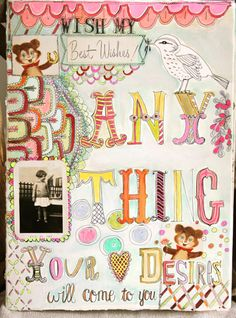 lovely doodles and lettering - pam garrison
