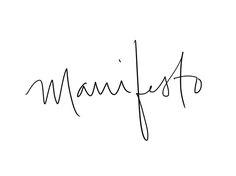 love the font // shopyourmanifesto.com
