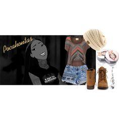 """Punk Pocahontas"" by sabrinav625 on Polyvore"