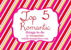 Top 5 Romantic Things to Do in St. Augustine
