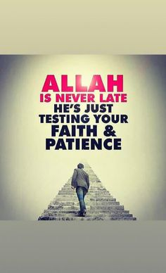 Allah is the Creator who tests us bcos He loves us Best Islamic Quotes, Beautiful Islamic Quotes, Islamic Messages, Islamic Love Quotes, Islamic Inspirational Quotes, Muslim Quotes, Religious Quotes, Allah Quotes, Quran Quotes