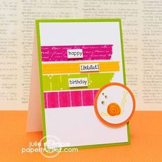 I used this design to inspire one of my creations using washi tape.