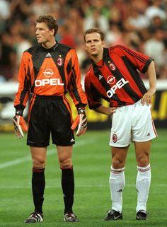 Jens Lehmann et Oliver Bierhoff (AC Milan)