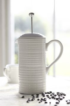 The Sophie Conran for Portmeirion 1.75 pint Cafetiere Coffee Pot makes a…