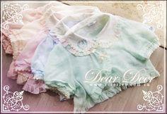 DDblouse■十周年特典Dear Deer小鹿罩衫■紫色、藍色、粉再入荷-淘寶網