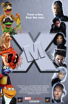 X-M: Muppets Take the Mansion by omegakat on deviantART