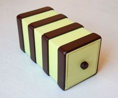 Two Compartment Puzzle Box