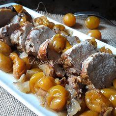 Porc Au Caramel, Plats Weight Watchers, Filets, Pretzel Bites, Sausage, Meat, Prince, Gourmet, Kitchens