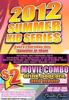 Carmike Cinemas - $2 movies 10am Thursdays