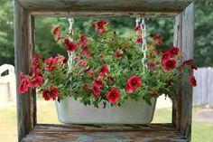 Amazing uses for old picture frames in the garden | Flea Market Gardening