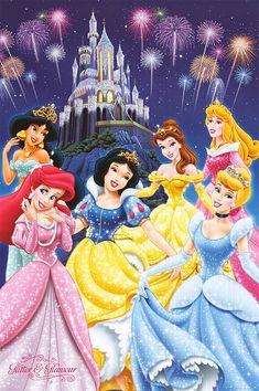 Disney Posters to Print | DISNEY PRINCESS POSTER ]