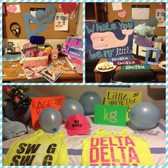 so many tri delta gifts/crafts
