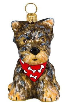 Joy to the World Collectibles 'Dog with Bandana' Ornament